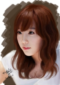 painting_snsd_taeyeon_by_aimgallagher
