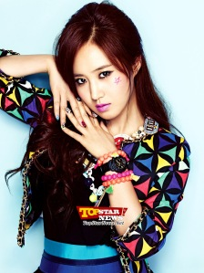 snsd yuri baby-g pictures