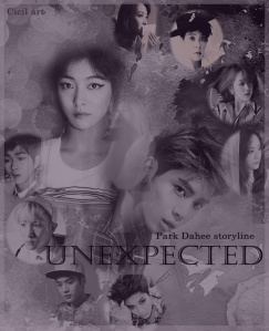 Unexpected poster Park Dahee copy