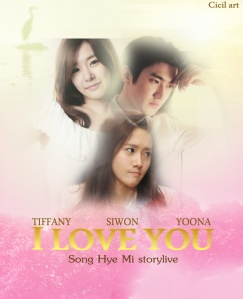 I LOVE YOU by song hye mi poster