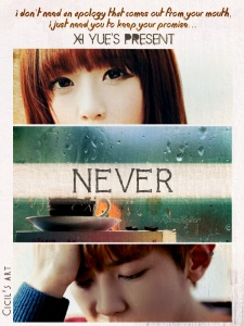poster never