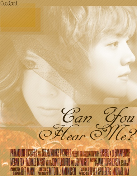 Can You hear me poster 1