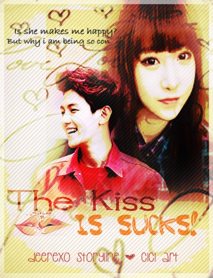 The Kiss is sucks! poster 1