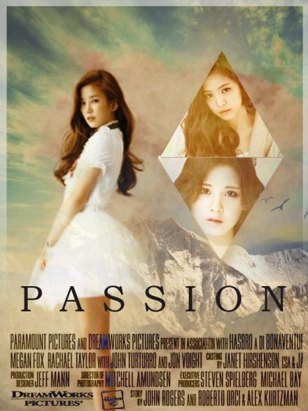 Poster random passion