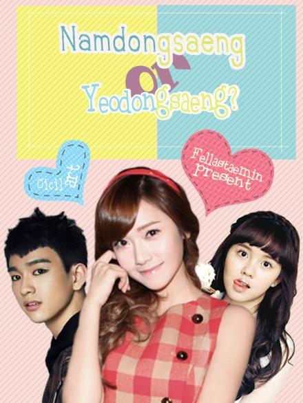 poster namdongsaeng or yeodongsaeng