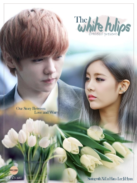 poster the white tulips 2