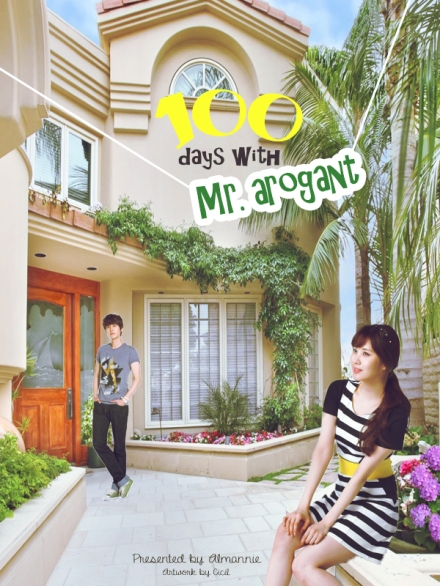 poster 100 days with mr. arogant