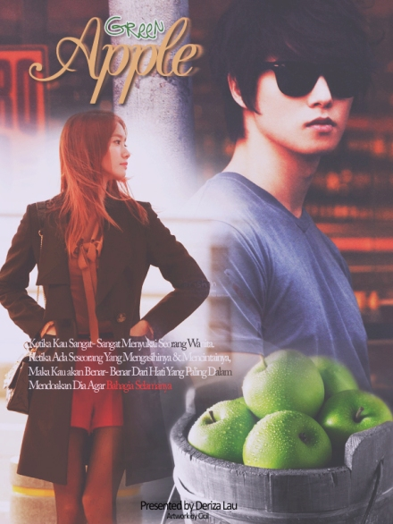 poster green apple 1