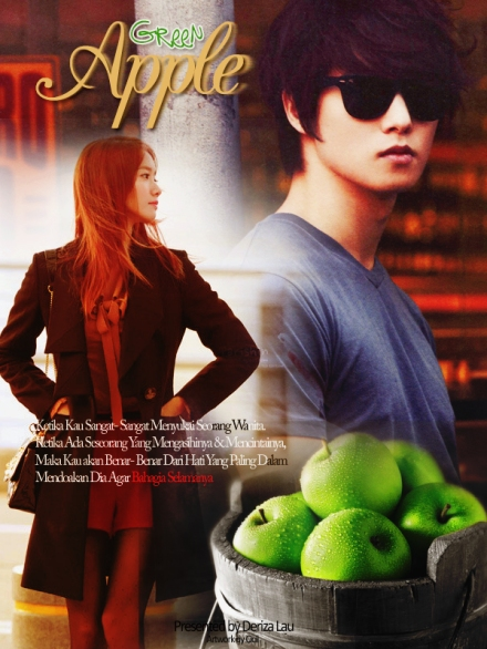 poster green apple 2