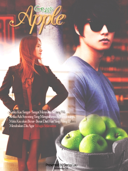 poster green apple 3