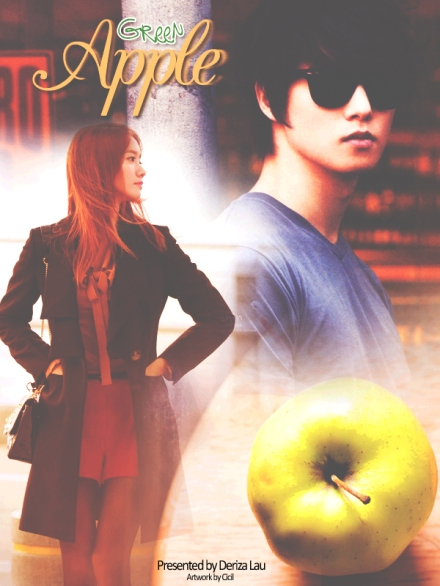 poster green apple 4